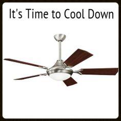 Bellamy Large Fan to Ceiling Fan - Antique Pewter Antique Ceiling Fans, Ceiling Fan Makeover, Large Fan, Antique Pewter, Energy Efficiency, Climate Control, Summer Months, Property Management, Cool Stuff