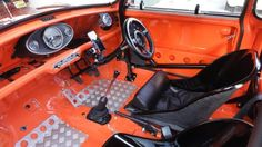 Automessen in Deutschland Termine ab Januar 2019 Mini Cooper Classic, Classic Mini, Tube Chassis, Car Interior Design, Race Engines, Weird Cars, Roll Cage, Wide Body, Car Engine