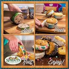 These ice cream sammies are a perfect dessert for summer cookouts! #SnackHack #GreatGrillin - Sprouts Farmers Market