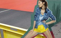 Stella McCartney x ADIDAS spring 2011 Ad. I can see this one as an athletic fragrance.