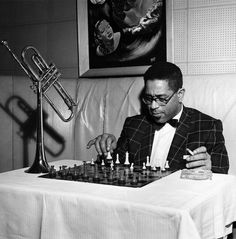Dizzy Gillespie,1955. Photograph by G. Marshall Wilson