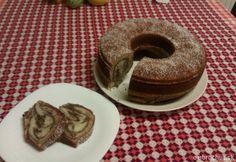 Hrnčeková babovka Bunt Cakes, Bagel, Doughnut, Pancakes, December, Cooking Recipes, Sweets, Bread, Breakfast