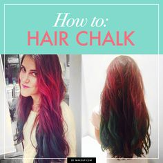 How to Use Hairchalk