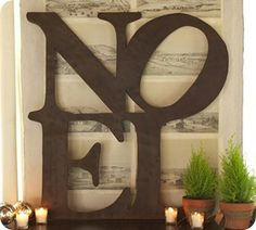 gotta love a pottery barn knock-off    http://thriftydecorchick.blogspot.com/2010/12/rustic-pottery-barn-knock-off.html