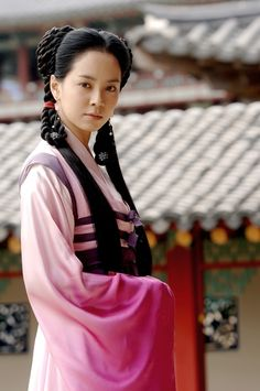 Before Running Man, first noticed Ji Hyo from a series called Jumong.