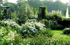 Modern Country Style: The English Country House Garden and Designing Gardens: Book Reviews Click through for details.