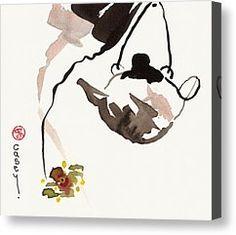 Me encanta este cuadro: Orchid Tea Painting by Casey Shannon - Orchid Tea