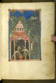 De balneis Puteolanis, MS G.74 fol. 4r - Images from Medieval and Renaissance Manuscripts - The Morgan Library & Museum