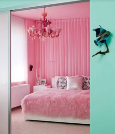 Now this is a girl's room - perfect for any little Princess