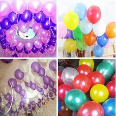 10pcs 12 Inc Pearl Latex Balloon Wedding Valentine Birthday Party Decoration