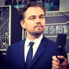 The always dapper #LeonardoDiCaprio #GatsbyPremiere #TheGreatGatsby
