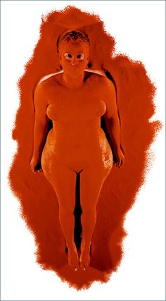 Image result for berni searle orange South African Art, Contemporary, Orange