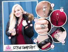 { Paparazzi Style Snapshot } The combination of black and silver is easily one of the most popular - presumably because of their endless versatility.  However, it is still important to pay attention to the style of the accessories you're combining, to avoid a chaotic, unbalanced look. All of our accessories are just $5! 1 - Dancing In the Rain - Silver 2 - Love At First Sight - Black 3 - Seeing Stars 4 - Circle Back Around 5 - Queen Bee - Silver 6 - Stretching the Truth - Black