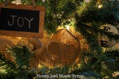 Honey and Maple Syrup: Christmas Tree: Love It Or Hate It