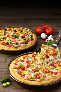 Pizza Hut Pan Pizzas on Behance