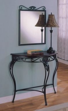 Foyer Table And Mirror Home Design Ideas Entryway