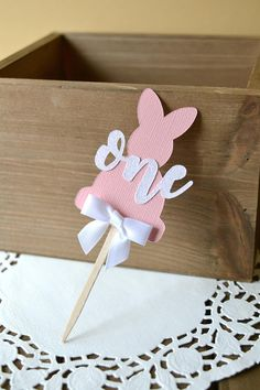 Some Bunny is One Centerpieces - Bunny First Birthday - Some Bunny is One Decor - Bunny Birthday Party - Spring Birthday Party Girls Birthday Party Themes, Birthday Party Centerpieces, Unicorn Birthday Parties, Unicorn Party, First Birthday Parties, First Birthdays, Carnival Birthday, Party Favors, Bunny Birthday