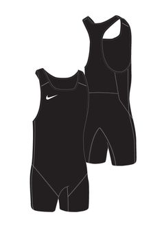 New! Women's Weightlifting Singlet - Black / Black - Athlete Performance Solutions