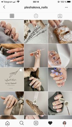 Instagram Feed Layout, Feeds Instagram, Instagram Nails, Instagram Makeup, Nail Art Designs Videos, Nail Designs, Logo Mano, Business Nails, Photography Ideas At Home