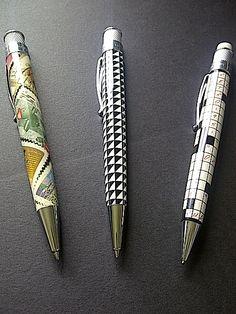 New pens in my Retro 1951 collection! Vintage Pens, New Pen, Best Pens, Sword, Office Supplies, Desk, Retro, Blog, House