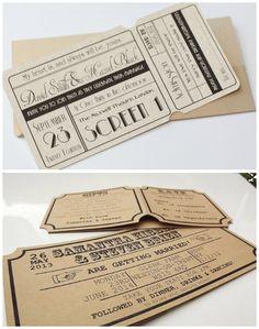 Zdecyduj się na kreatywne zaproszenia ślubne i zaskocz swoich znajomych. DIY Blog - Zainspiruj się i zrób to sam.
