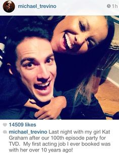 The vampire diaries tyler lockwood - michael trevino bonnie bennett Serie Vampire Diaries, Vampire Diaries Quotes, Vampire Diaries The Originals, Michael Malarkey, Michael Trevino, Bonnie Bennett, Vampire Dairies, Mystic Falls, Delena