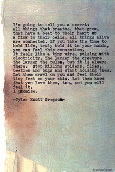 Typewriter Series #560by Tyler Knott Gregson