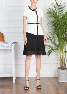 ao-vest-nu Vest, Black, Dresses, Fashion, Vestidos, Moda, Black People, Fashion Styles, Dress