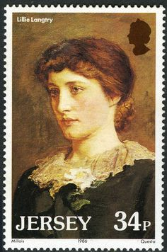 British actress Lillie Langtry became an international superstar in the late Victorian era. Her first U.S. appearance was in New York City in 1882.