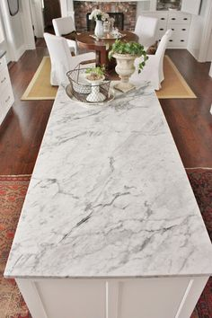 for the love of a house: Marble...