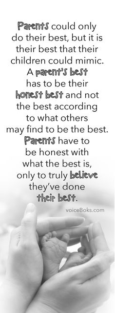 Is your parenting best your most honest best?