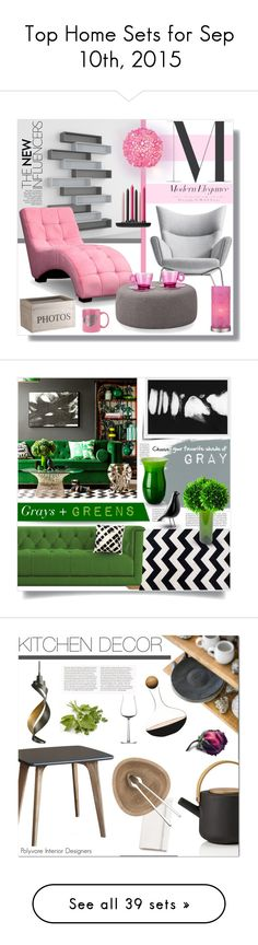"""""""Top Home Sets for Sep 10th, 2015"""" by polyvore ❤ liked on Polyvore featuring interior, interiors, interior design, home, home decor, interior decorating, Carl Hansen & Sons, Worlds Away, Pacific Coast and iittala"""