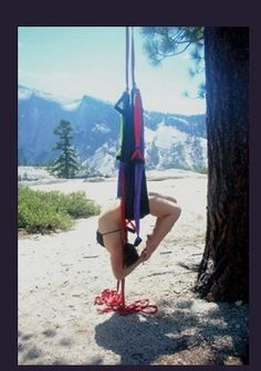 yoga swing- looks awesome!