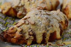 Almond Croissants are day old croissants that are filled and topped with almond cream and shaved almonds. With Demo Video