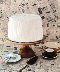 Double Espresso Coffee Chiffon Cake