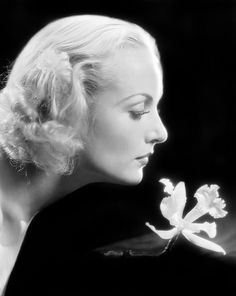 Carole Lombard. The love of Clark Gable's life (married in 1939 until her death in 1942), she was married to William Powell from 1931-1933