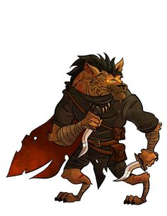 Moreso than many other humanoid races, primal instinct remains a strong part of the gnoll psyche. Gnolls are natural predators and savor the thrills of the hunt. Almost all gnolls prefer the wilderness to the civilized enclaves favored by humans, dwarves, or other similar races and those that do take to cities usually think of them as just another kind of landscape.