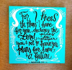 Bright bible verse canvas...love this scripture!! :)