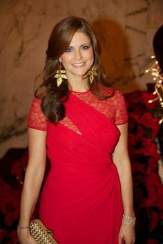 European Monarchies via princessmadeleineofsweden:  On December 2, 2011, Madeleine received The Humanitarian Award on behalf of World Childhood Foundation from the American Scandinavian Society at the American Scandinavian Society's Christmas Ball in New York.
