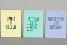 Promoting letterpress in a gorgeous, creative package