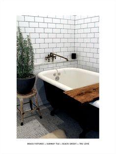 Get the Look : B Vintage Modern Bathroom — Deuce Cities Henhouse