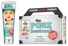 Benefit Cosmetics has just announced that two new products are joining its POREfessional collection! This successful franchise, developed to help you minimize the appearance of pores, now welcomes the Matte Rescue Invisible-Finish Mattifying Gel and POREfessional Instant Wipeout Masks. The novelties will be available exclusively at Benefit online, on 15th January 2016, and elsewhere from January 30, 2016. #beautynews #beauty2015 #beautyproduct #cosmetic2015 #cosmeticnews #makeup2015 #makeup