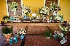 Decoração   Destination Wedding rústico em Carneiros