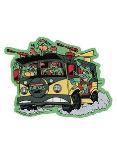 Teenage Mutant Ninja Turtles Van Sticker | Hot Topic