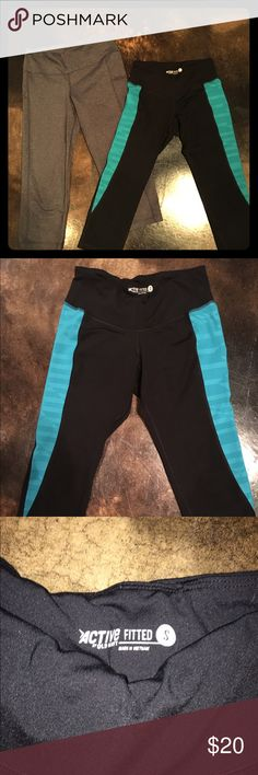 Old Navy Active size small cropped leggings 2 pairs of size small cropped leggings, excellent used condition.  Each worn only a few times. Old Navy Pants Leggings
