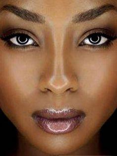 Make up tips for deeper tones, dark skin, brown skin whatever you ...