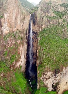Cascada Piedra Volada, Chihuahua, Mexico