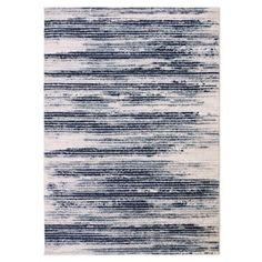 Shop for Jasmin Collection Stripes Blue and Beige Polypropylene Tea Area Rug (7'10 x 9'10). Ships To Canada at Overstock.ca - Your Online Home Decor Outlet Store!  - 19752507