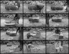 Fabrication d'une chaise monoxyle par Bertrand Lacourt