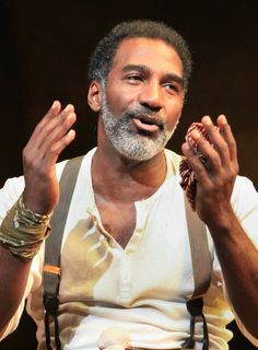 """Norm Lewis in his Tony-nominated portrayal of Porgy in the 2012 Broadway revival of """"Porgy and Bess"""""""